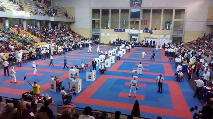 XXXVII Campeonato de España de Karate Infantil celebrado en el Palacio de los Deportes