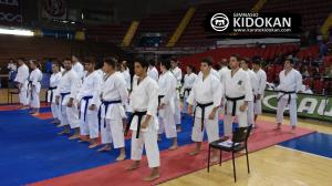 Espectacular la categoría Kata Senior B por la cantidad y la calidad de los participantes