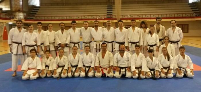 Foto de grupo con los asistentes una vez finalizado el curso