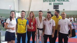 Equipo Senior Mixto de la Delegación Sevillana de Karate