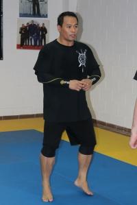 Master Maul Mornie teaching during the seminar