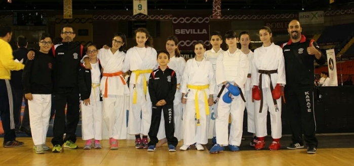 2 campeonato de la liga municipal de karate 2016 - Artes marciales sevilla ...