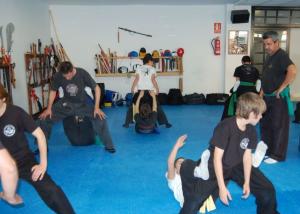 clase kung fu