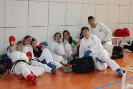 Karatekas de Kidokan, Wadokan y Zanshin, en otro ejemplo más del buen ambiente reinante en la DSK