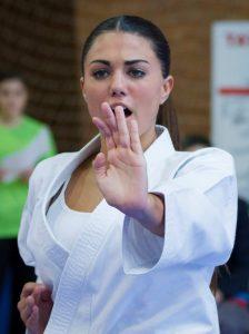 Carmen García Capitán, Campeona en Kata Sub21 Femenino (Foto: Manuel Morales)