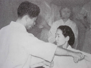 Gigo (Yoshitaka) Funakoshi, hacia los primeros años de la decada de los 40.