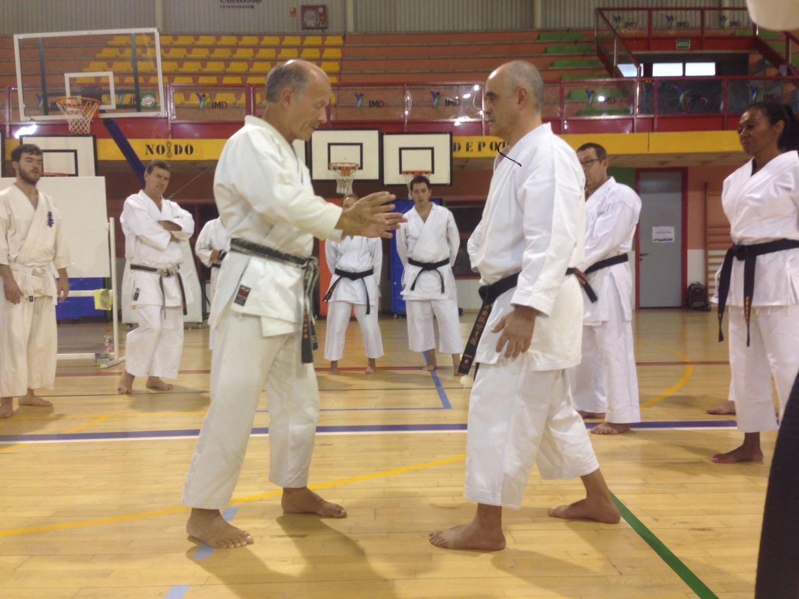 Sensei bernard sautarel curso de karate interno en - Artes marciales sevilla ...