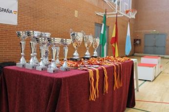 Trofeos y medallas para los vencedores