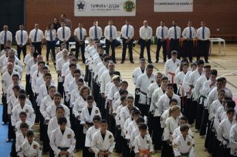 Paticipantes en este XIII Campeonato de España de Yawara Jitsu